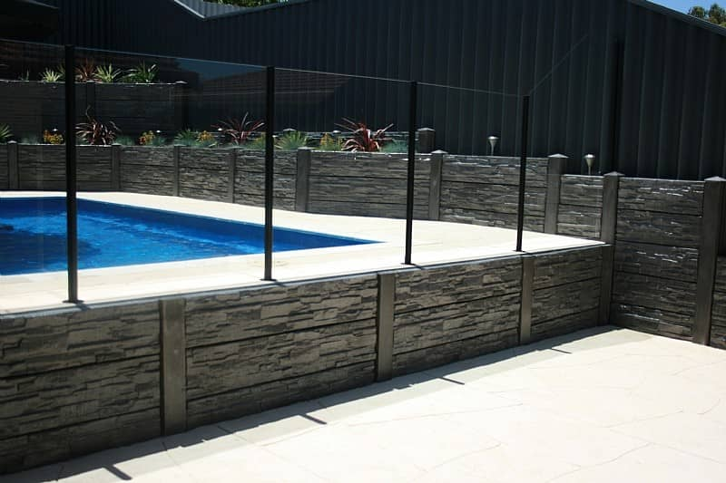 Retaining Walls Perth - Poolside